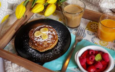 Pancakes Express à la banane et son d'avoine