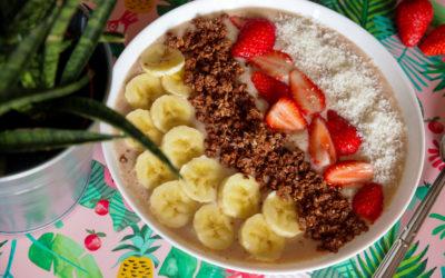 Le smoothie bowl
