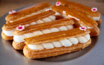 Eclairs caramel & chantilly