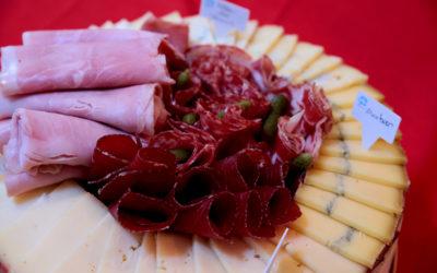 Plateau de fromage «Laiterie Gilbert»