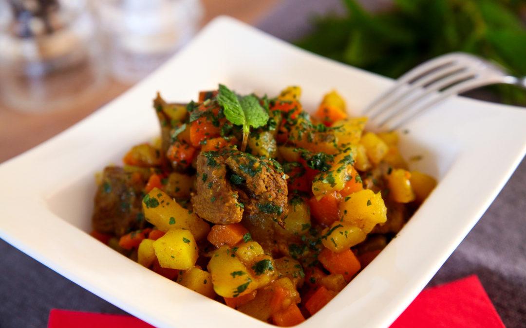 Curry de Bœuf & légumes